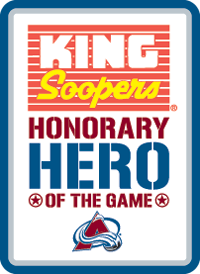 King Soopers Hero of the Game Logo