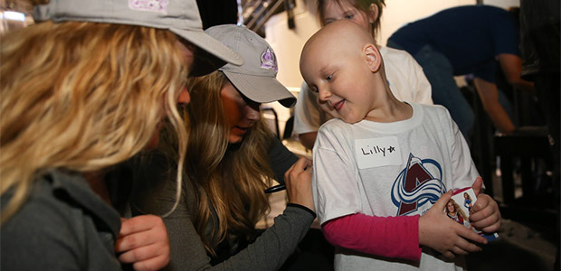 Avs Ice Girls Hockey Fights Cancer