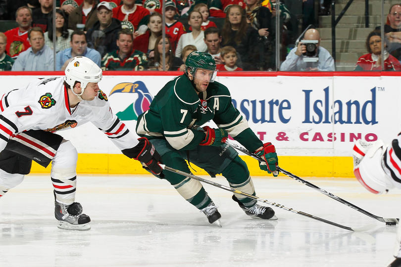 Wild vs. Blackhawks