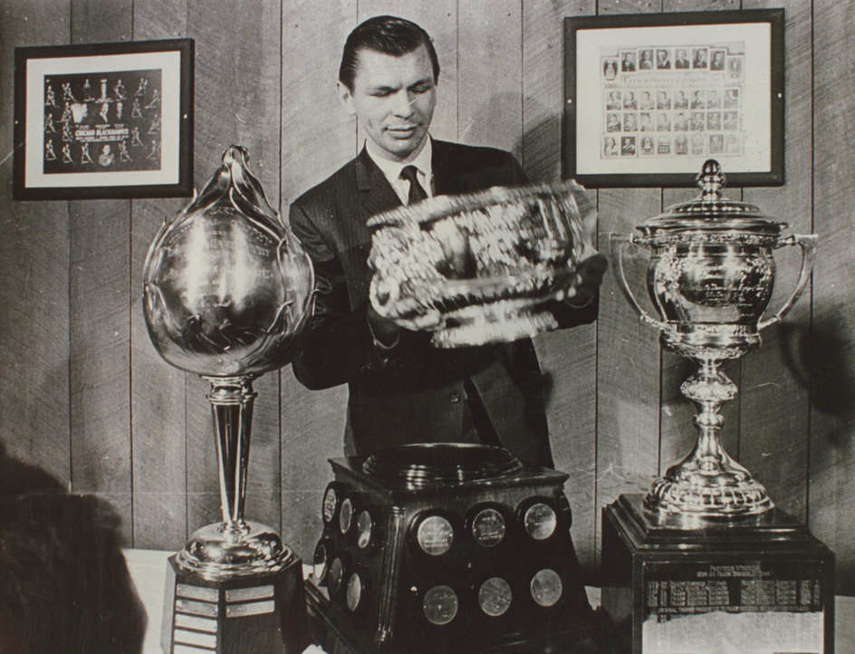 stan mikita trophies trophy