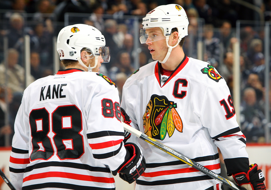toews and kane talking