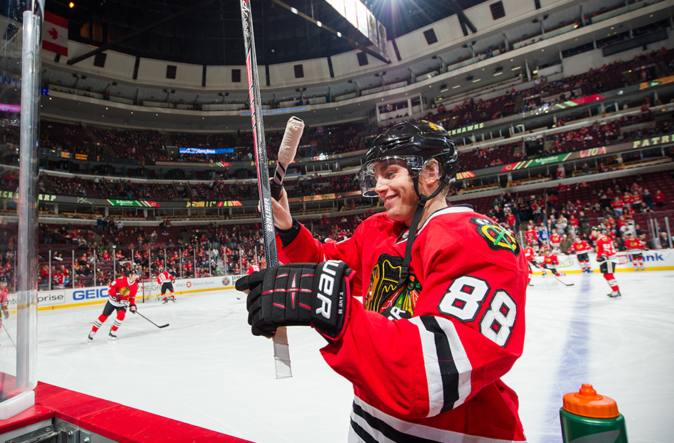 kaner messing with his stick