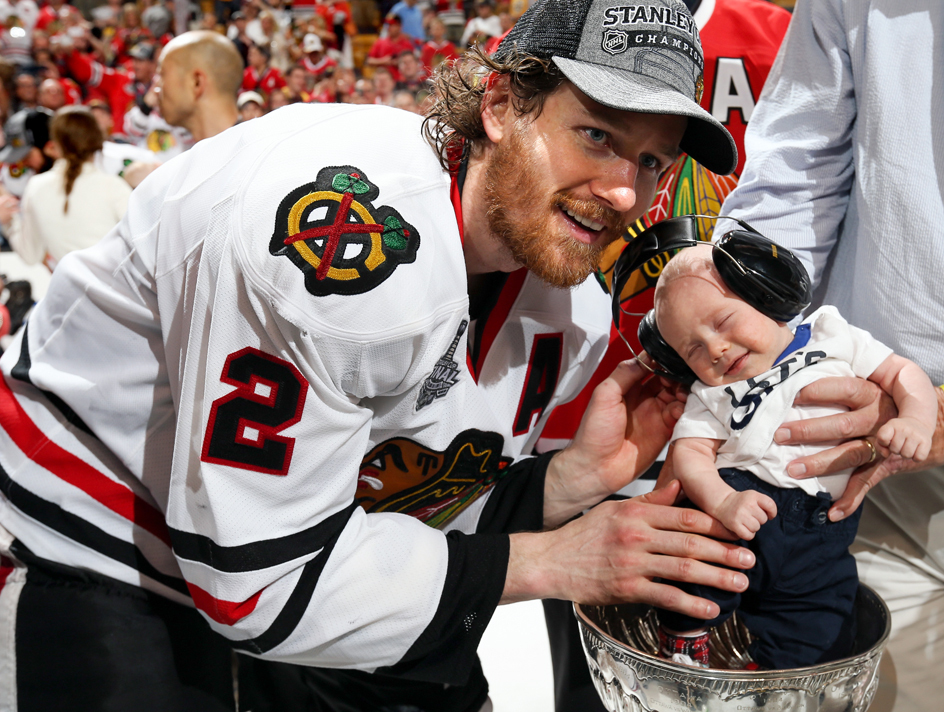 duncan keith and his son