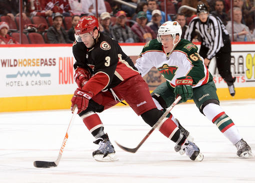 Charlie Coyle & Keith Yandle