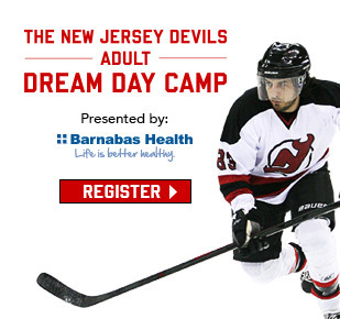 New Jersey Devils Adult Dream Day Camp • Register Now