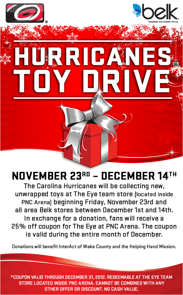 Hurricanes Toy Drive