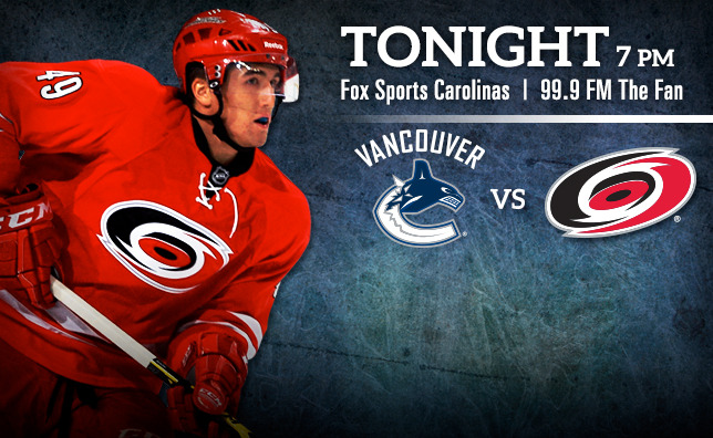 Canucks vs. Hurricanes