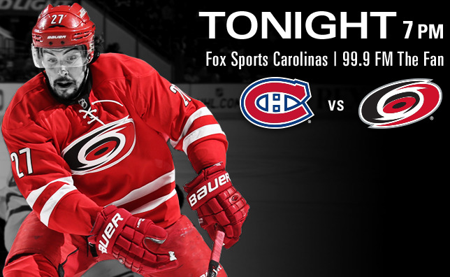 Canadiens vs. Hurricanes