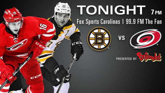Bruins vs. Hurricanes