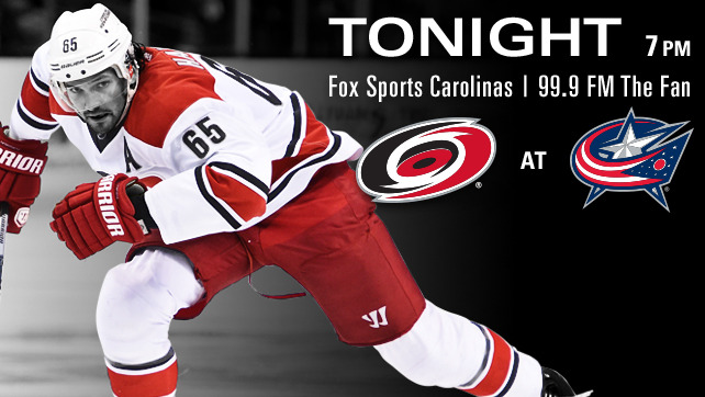 Hurricanes vs. Blue Jackets