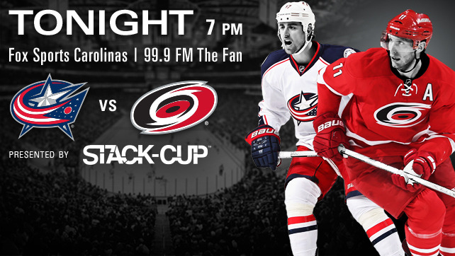 Blue Jackets vs. Hurricanes