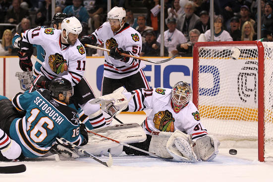 Sharks vs. Blackhawks - Game 2