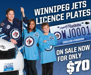 Winnipeg Jets Licence Plates