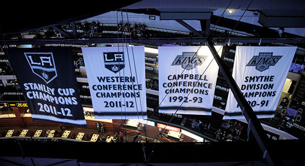 First Stanley Cup Banner