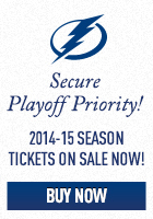 Secure Playoff Priority. 2014 Season Tickets Now on Sale