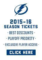 Buy 2015-16 Lightning Season Tickets