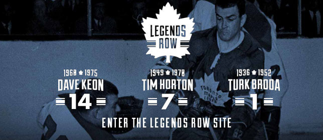 Enter the Legends Row Site