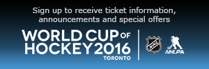 World Cup of Hockey ticket info