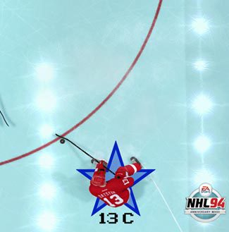NHL 14 will feature a special anniversary mode. (Courtesy: EA Sports)
