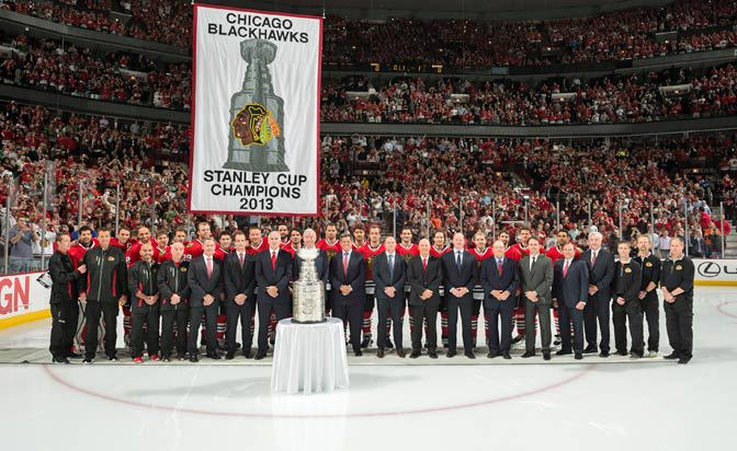 Their 2013 Stanley Cup