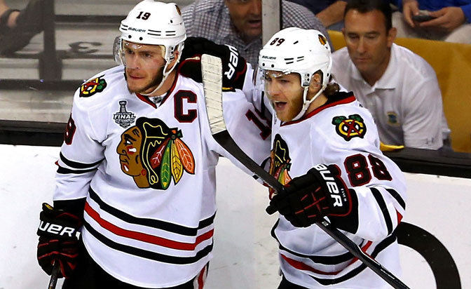 Blackhawks GM expects to extend Toews, Kane