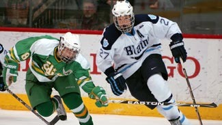 Nick Bjugstad's outstanding high school career in Minnesota                             included winning the prestigious Mr. Hockey Award.