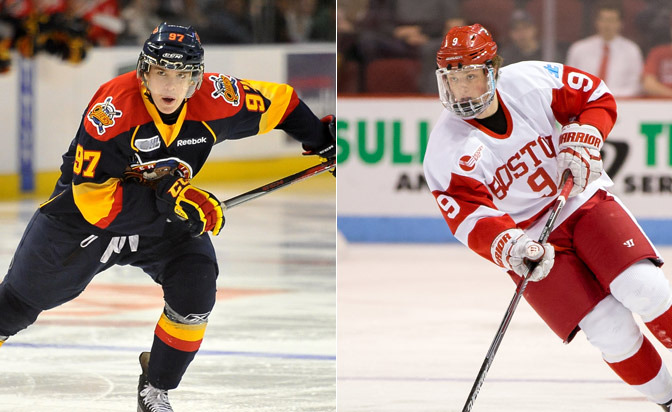 McDavid Tops Central Scouting Midterm Rankings - Kylington Rated Top International Prospect