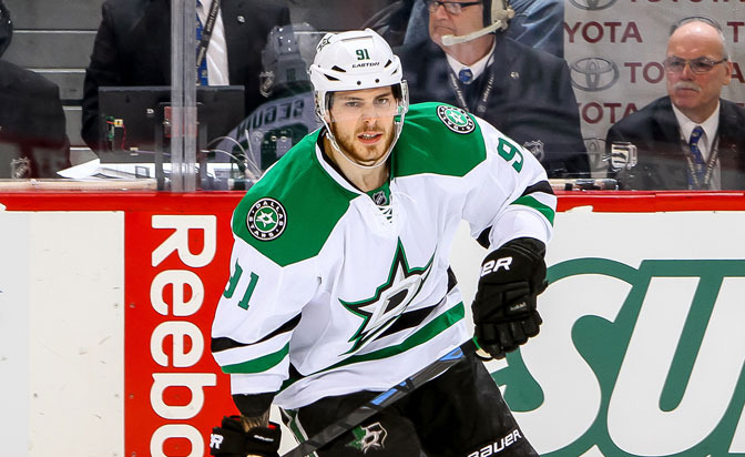 Stars' Seguin skating without knee brace: report