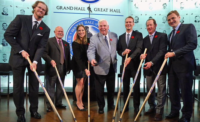 2015 NHL Hockey Hall of Fame Inductees