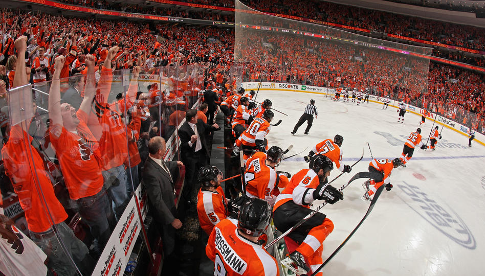 Flyers Devils Game 1 2012