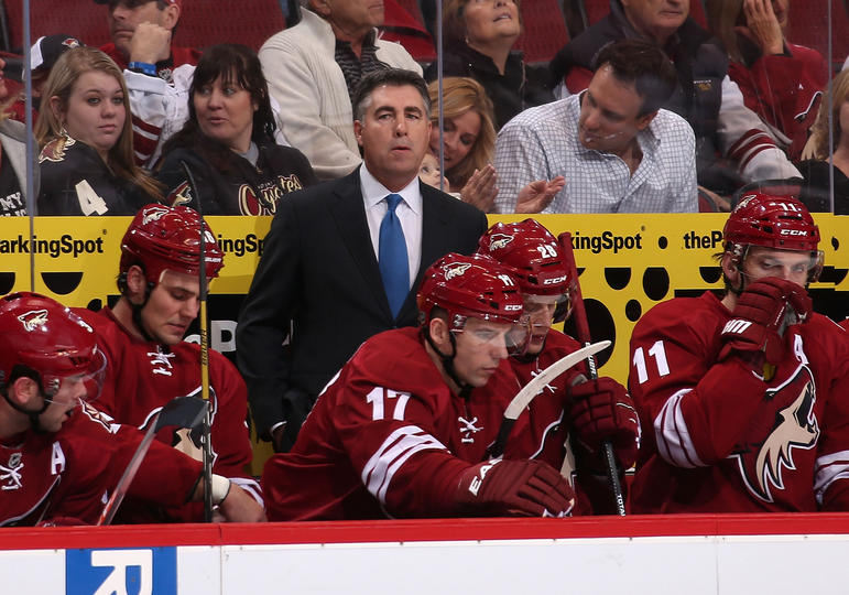 Coyotes Sign Coach Dave Tippett To New Deal