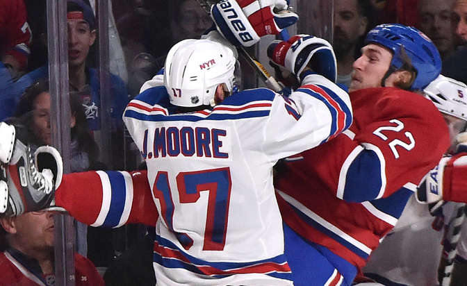 Rangers' John Moore faces hearing for hit on Weise
