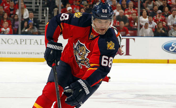 Jagr signs one-year contract with Panthers