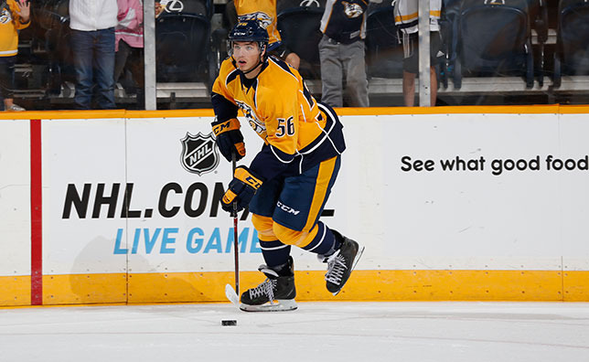 Kevin Fiala Predators Assign 2014 First Rounder Kevin Fiala to