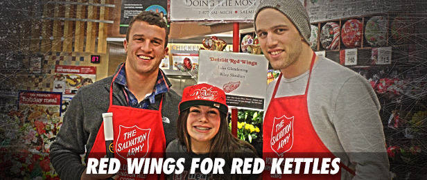 Red Wings for Red Kettles