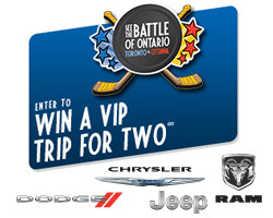 Chrysler's Battle of Ontario Contest