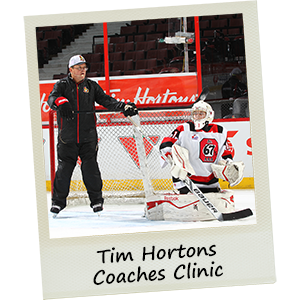 Tim Hortons Coaches Clinic