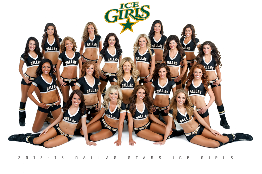 2012-13 Dallas Stars Ice Girls